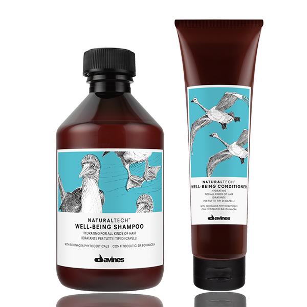 Davines Naturaltech Well-Being Shampoo + Conditioner DUO