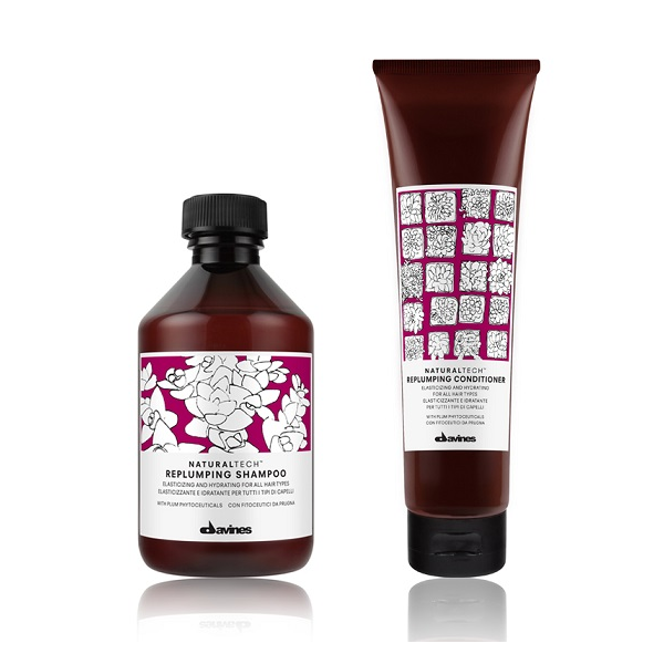 Davines Naturaltech Replumping Shampoo + Conditioner DUO - Hairsale.se