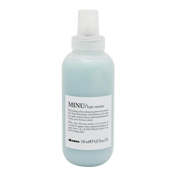 Davines Essential MINU Hair Serum 150ml, glansgivare för färgat hår