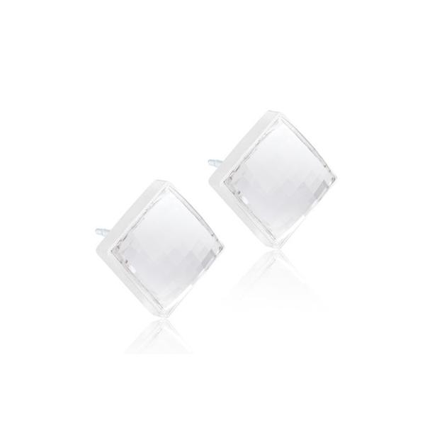 Blomdahl Facet Square Crystal