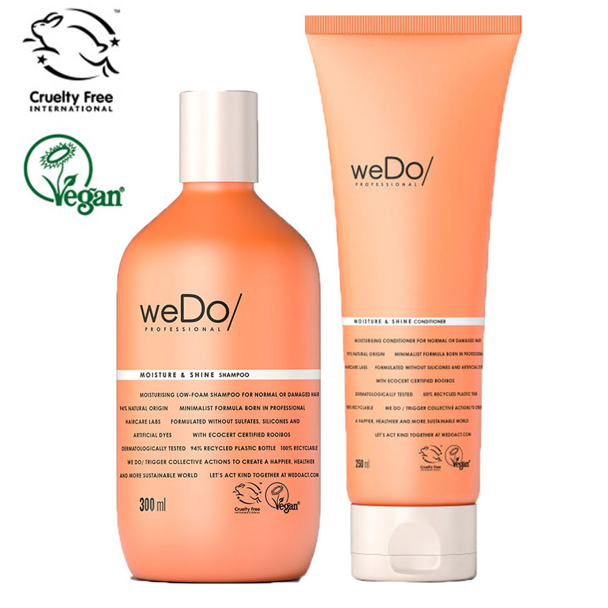 weDo Moisture & Shine Shampoo & Conditioner DUO - Hairsale.se